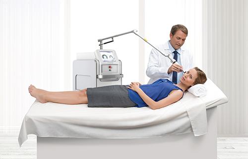 Laser de alta precisão para rejuvenescimento da pele e tratamento de marcas de expressão e envelhecimento