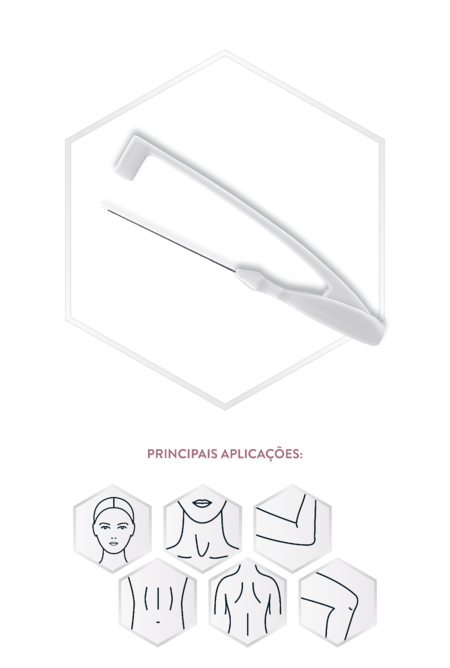 InMode BodyTite - Aplicador FaceTite para tratamentos minimamente invasivos rosto e pequenas áreas do corpo