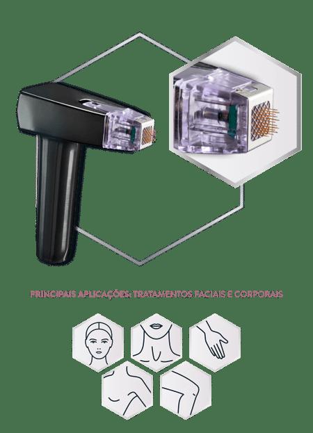 InMode BodyTite - Aplicador Morpheus8 para tratamentos minimamente invasivos rosto e pequenas áreas do corpo