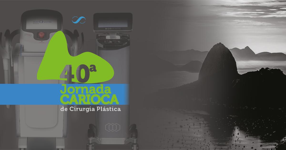 Skintec na 40ª Jornada Carioca de Cirurgia Plástica. Nos encontre lá!